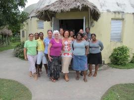 Liberty House staff